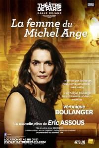 La Femme du Michel Ange au Théâtre de Paris