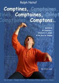 Comptines, comptaines, comptons au Théâtre de la Noue : Affiche