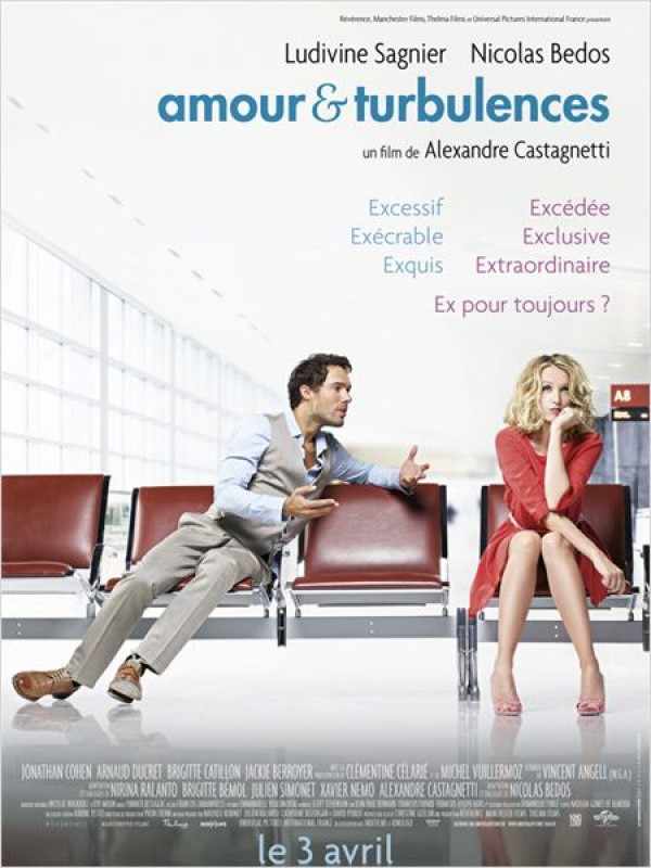Amour & turbulences : Affiche