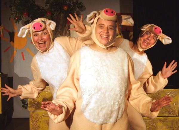 Les trois petits cochons th tre de verdure du jardin - Theatre de verdure du jardin shakespeare pre catelan ...