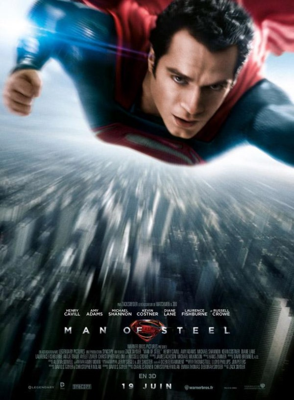 Man of Steel : Affiche