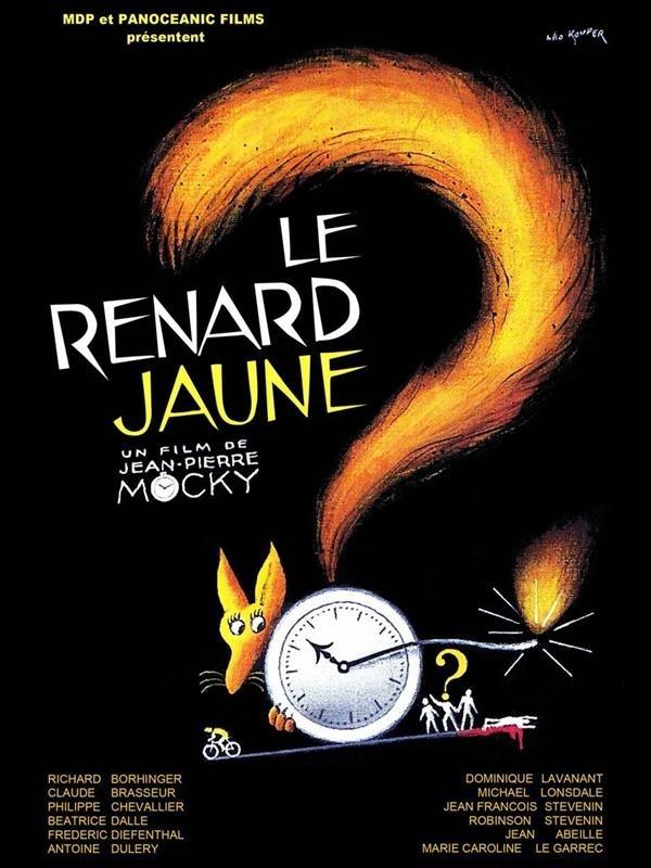 Le Renard jaune, affiche