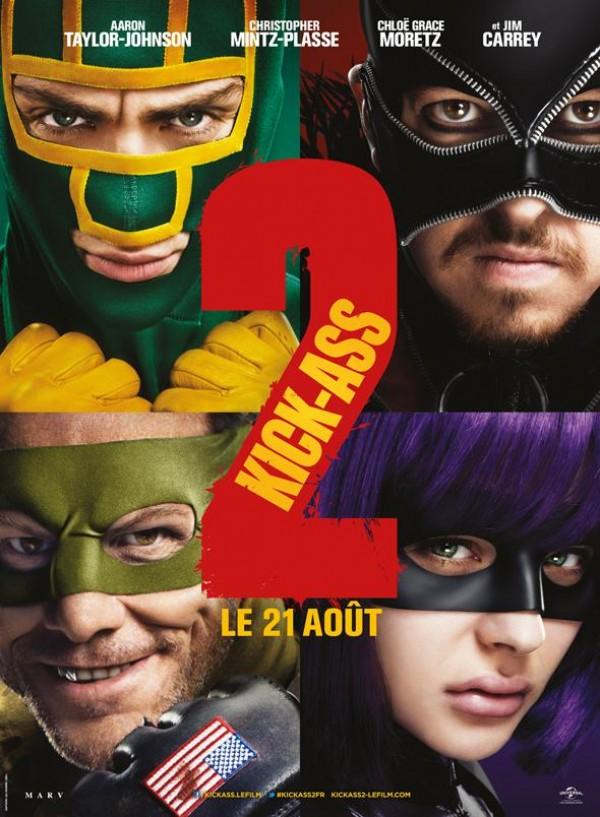 Kick-Ass 2 : Affiche