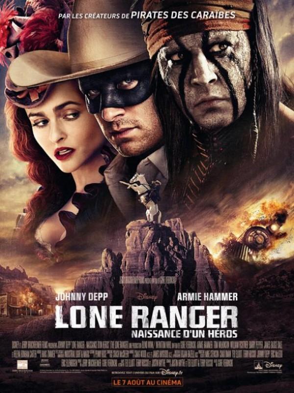 Lone Ranger, naissance d'un héros : Affiche