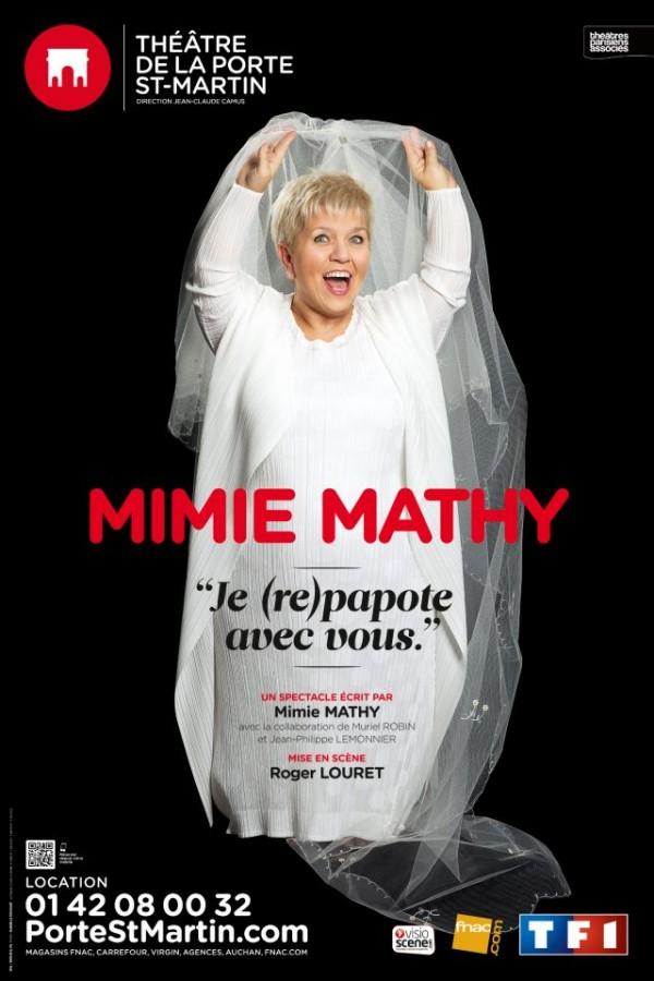 Mimie Mathy - Je (re) papote avec vous affiche