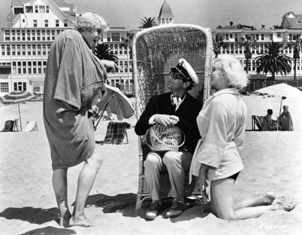 Jack Lemmon, Tony Curtis, Marilyn Monroe