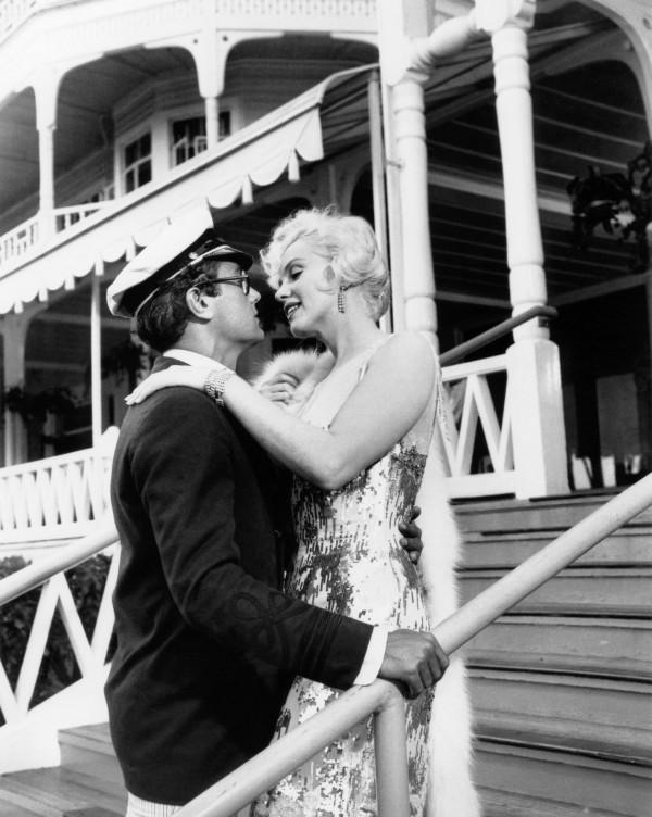 Tony Curtis, Marilyn Monroe