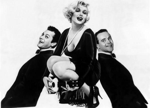 Tony Curtis, Marilyn Monroe, Jack Lemmon