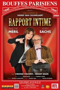 Rapport intime aux Bouffes Parisiens