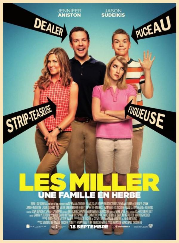 Les Miller, une famille en herbe : Affiche