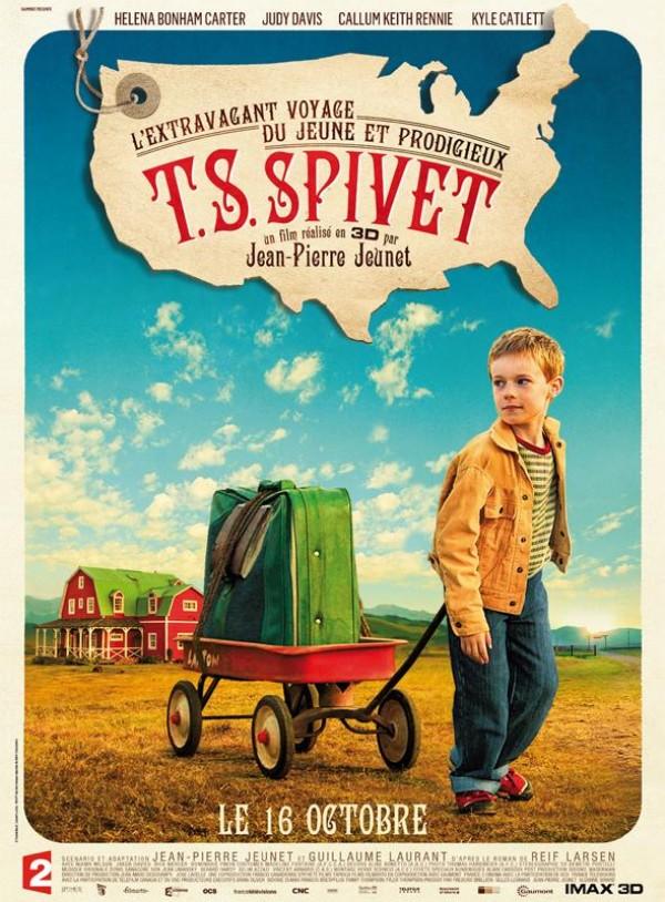 L'Extravagant voyage du jeune et prodigieux T. S. Spivet : Affiche