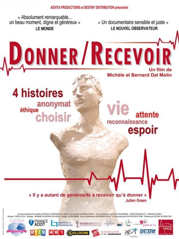 Donner / Recevoir : Affiche