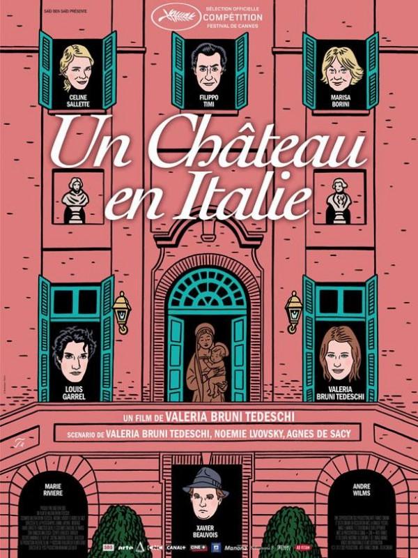 Un Château en Italie : Affiche