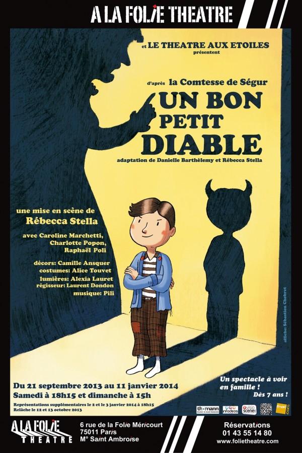 Un Bon petit diable : Affiche à la Folie Théâtre