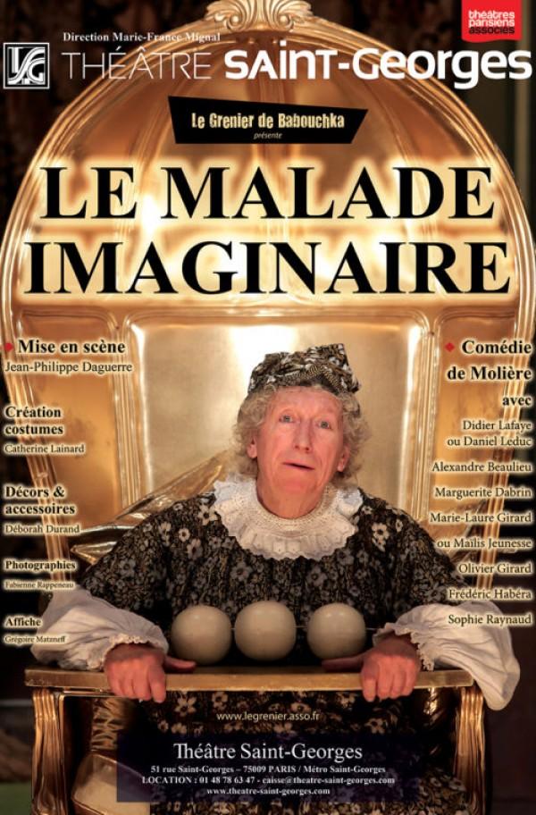 Le Malade imaginaire au Théâtre Saint-Georges
