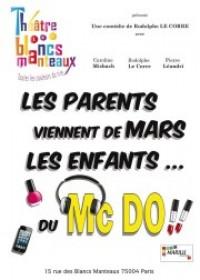 Les Parents viennent de Mars, les enfants du Mc Do