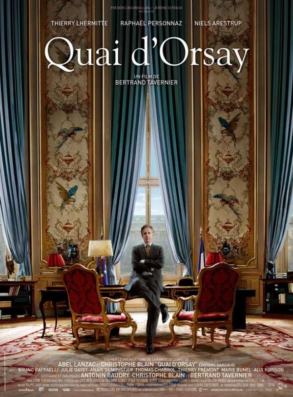 Quai d'Orsay : Affiche