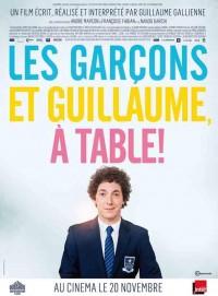 Les Garçons et Guillaume, à table ! Affiche