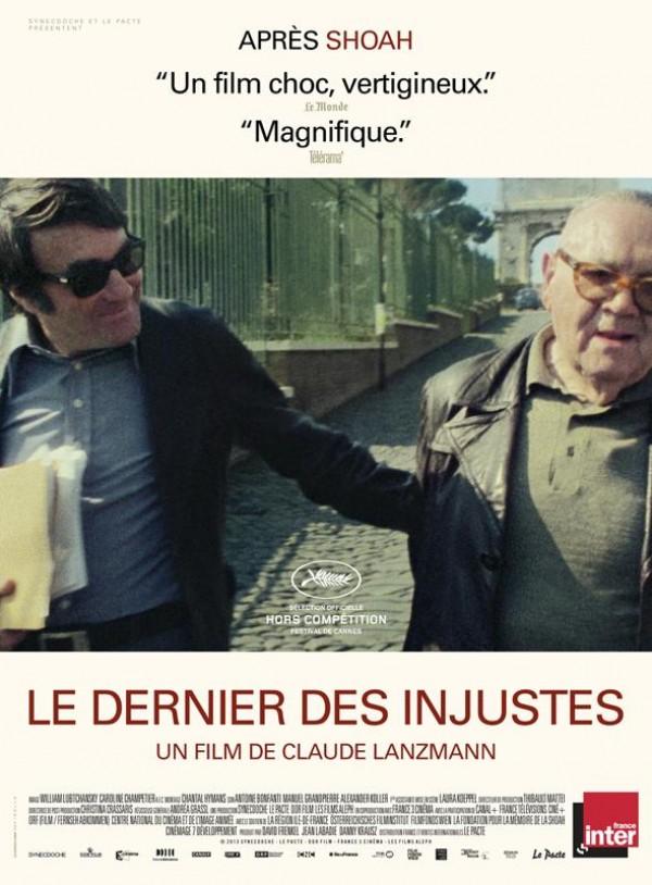 Le Dernier des injustes : Affiche