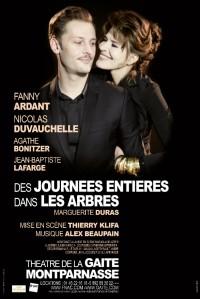 Des journées entières dans les arbres au Théâtre de la Gaîté-Montparnasse