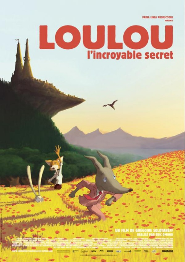 Loulou l'incroyable secret : Affiche