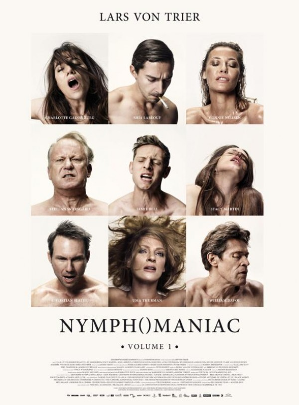 Nymphomaniac - Volume 1 : Affiche