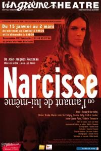 Narcisse ou l'amant de lui-même au Vingtième Théâtre : Affiche
