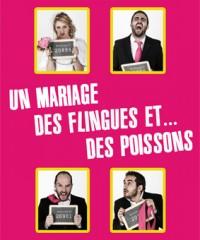 Un mariage, des flingues et… des poissons : Affiche