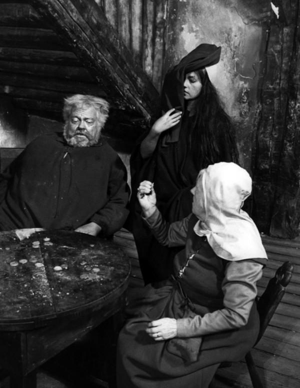 Orson Welles, Jeanne Moreau, personnage