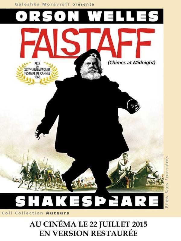 Falstaff, Affiche version restaurée