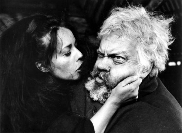Jeanne Moreau, Orson Welles