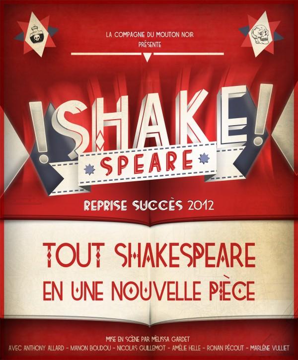 Shake speare : Affiche