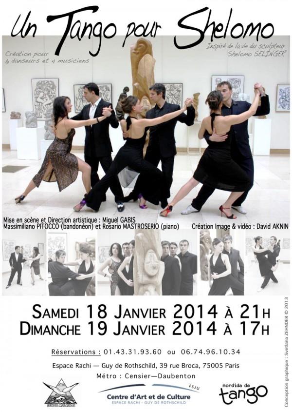un tango pour shelomo espace rachi l 39 officiel des spectacles. Black Bedroom Furniture Sets. Home Design Ideas