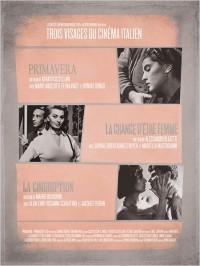 Trois visages du cinéma italien