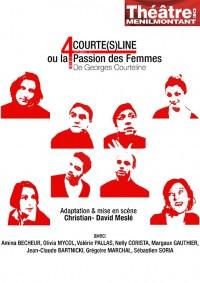 """""""4 COURTE(S)LINE"""" ou la Passion des Femmes : Affiche"""