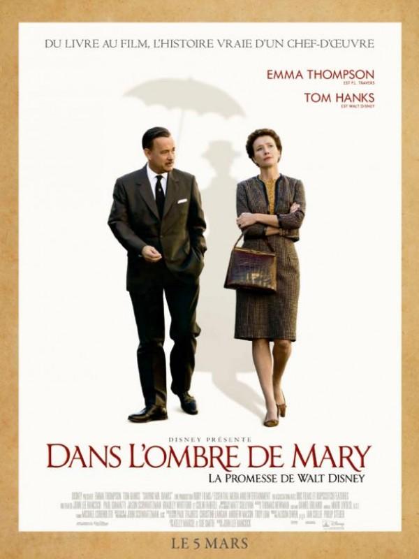 Dans l'ombre de Mary - La promesse de Walt Disney : Affiche