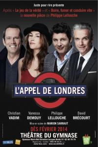 L'appel de Londres : Affiche