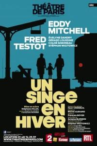 Un singe en hiver au Théâtre de Paris, avec Eddy Mitchell et Fred Testot