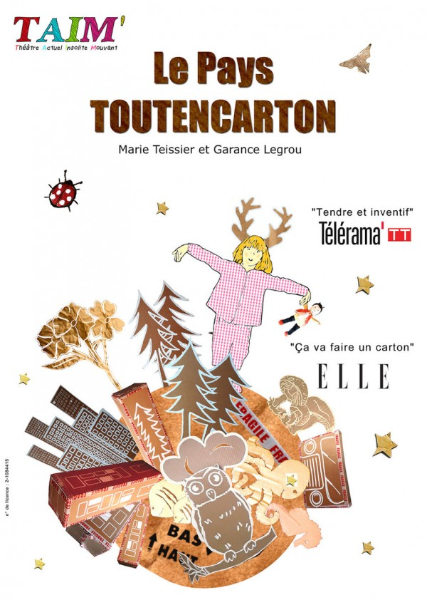 Le Pays Toutencarton - Affiche