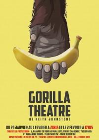 Gorilla Théâtre au Proscenium : Affiche