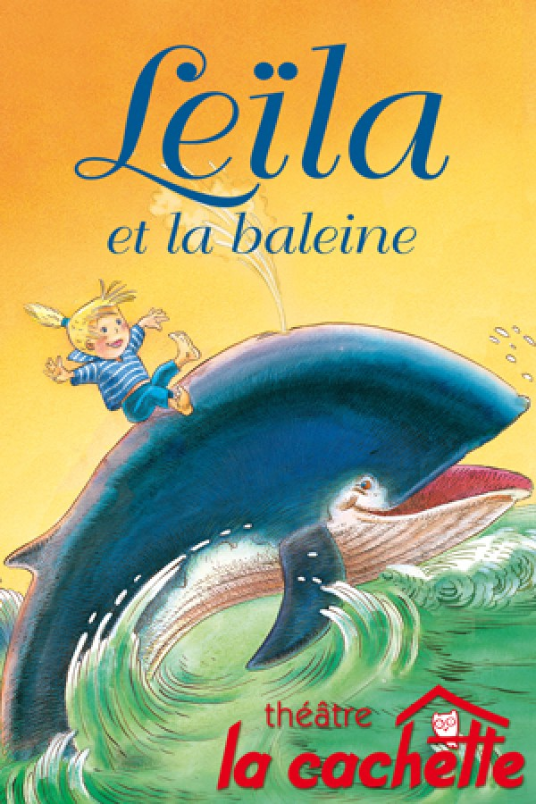 Leïla et la baleine : Affiche