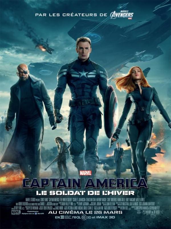 Captain America : Le Soldat de l'hiver : Affiche