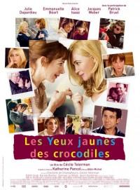 Les Yeux jaunes des crocodiles : Affiche