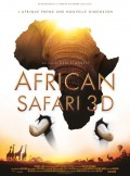 African Safari 3D : Affiche