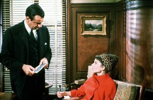 Walter Matthau, Audrey Hepburn