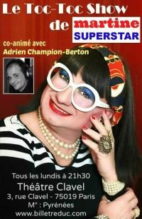 Affiche Le Toc-Toc Show de Martine Superstar
