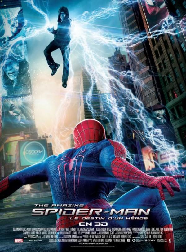 The Amazing Spider-Man : Le Destin d'un héros : Affiche