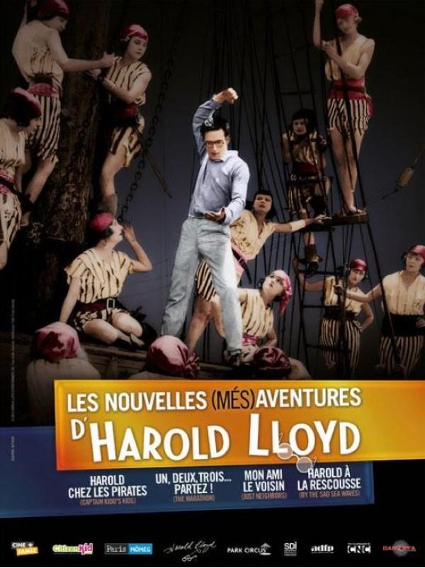Les Nouvelles (Més)aventures d'Harold Lloyd : Affiche