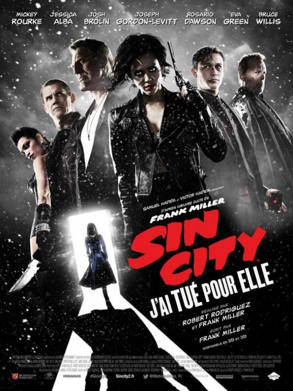 Sin City : j'ai tué pour elle Affiche