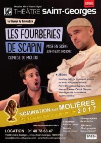 Les Fourberies de Scapin au Théâtre Saint-Georges